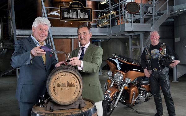 Bikers at Europe's biggest Harley-Davidson rally get a taste for the Cairngorms with newly launched Speyside Distillery's Beinn Dubh whisky