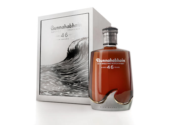 Bunnahabhain releases oldest ever single malt in tribute to the 'Gaelic God of the Sea': 8th July, 2017