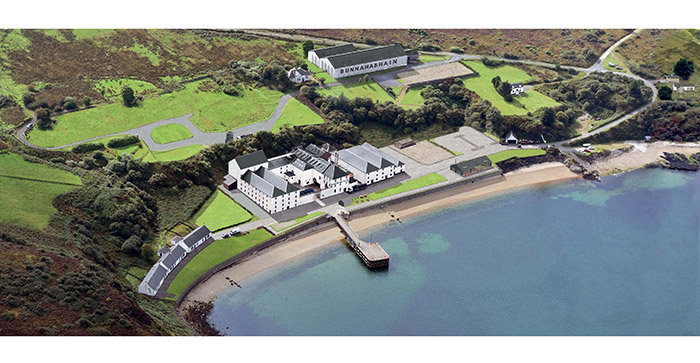 Bunnahabhain Distillery Transformation Begins
