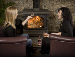 A cosy corner at GlenDronach, an ideal venue for the corporate sector.