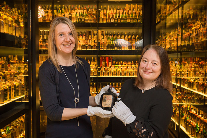 Great News from Edinburgh Tourism: World famous Scotch Whisky collection to stay in Edinburgh for another 10 years