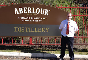 Jonathan Osbaldiston of Aberlour Distillery
