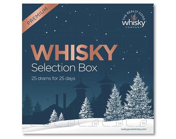 Premium Whisky Advent Calendar (BRAND NEW 2021 Editions) 25 Drams x 30ml of Premium Whisky - PRE ORDER