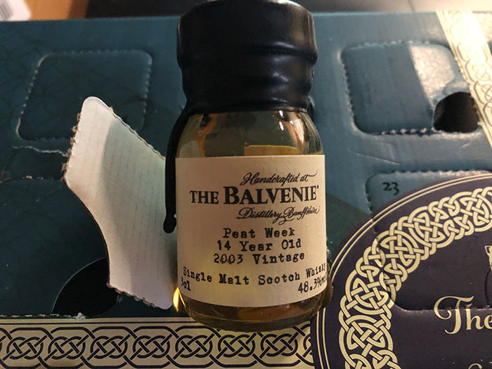 The Balvenie Peat Week 14 Year Old 2003 Vintage Single Malt Scotch Whisky