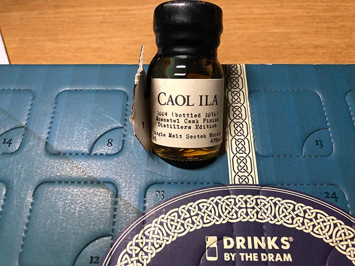 Caol Ila 2004 (bottled 2016) Moscatel Cask Finish Distllers Edition