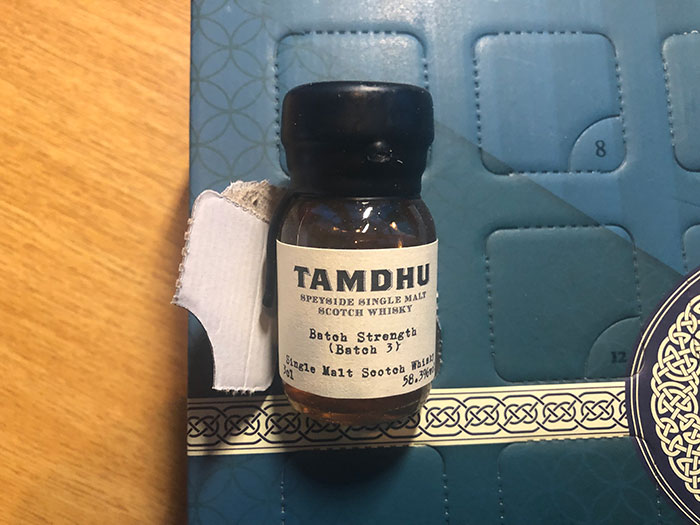 Tamdhu Batch Strength - Batch 3 Vol 58.3%