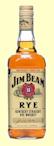 Jim Beam Straight American Rye Whiskey