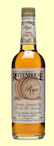 Rittenhouse Straight American Rye Whiskey
