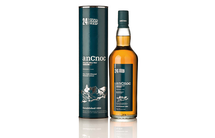 anCnoc 24 Year Old Scotch Whisky, £120