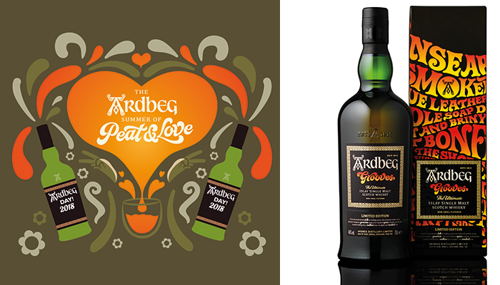 Ardbeg spreads 'Peat & Love' to launch The Magical Whisky Tour 2018 Ardbeg Day Saturday 2nd June 2018