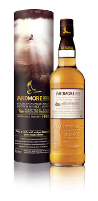 A photo of the Award winning Ardmore Traditional Cask