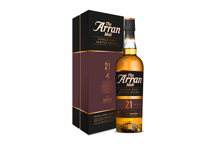 Isle Of Arran Distillers Launch Limited 21-Year-Old Expression