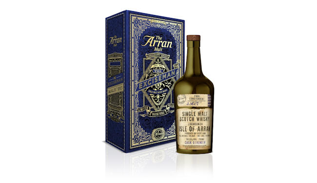 Final chapter in the Smugglers' story: Isle of Arran Distillers release ultimate bottling in history-inspired trilogy: 5th July, 2017