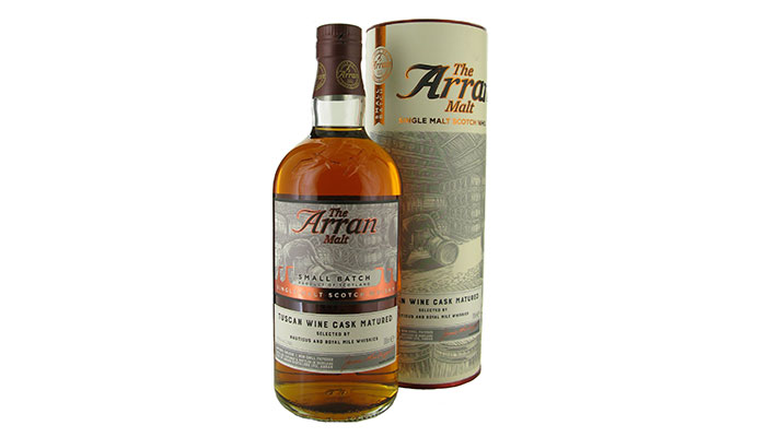 Isle of Arran Distillers launch exclusive small batch bottling