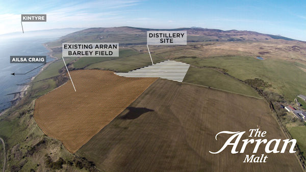 Plans for the new Arran Distillery