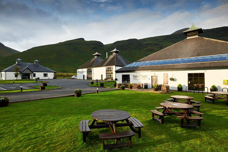 Isle of Arran Distillers using both distilleries to create a unique Blended Malt.