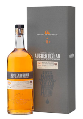 Auchentoshan Single Malt Scotch Whisky Unveils Rare 1975 Expression | 17th December, 2013