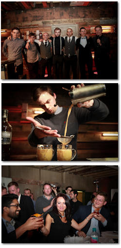 Photos from the European Final for Auchentoshan Switch - Winner Aidan Bowie from The Blythswood Square Hotel