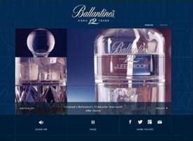 Ballantine's 12 takes customers beyond with the story of serve - 30th May, 2013