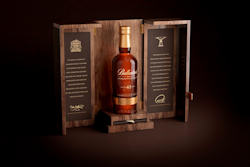 Ballantine's Championship Bottle 2013 Cabinet Open Render