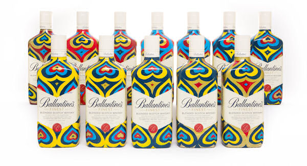 Ballantine's And Globally Renowned Artist Insa Collaborate To Bridge Online And Off Line Worlds With A Unique Animated Gif Created On 12 Limited Edition Bottles :: 24th March, 2015