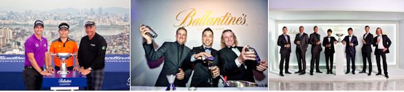 Stars Show 'True Character' In Ballantine's Championship Photo Call - 2012