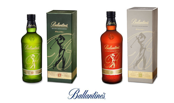 Ballantine's Launches Limited Edition Golf Packs For 2014 - 17yo and 21yo -14th April, 2014