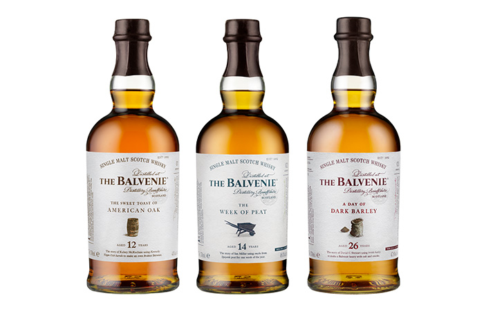 The Balvenie launches a unique new 'stories' range, three tales of character written in whisky