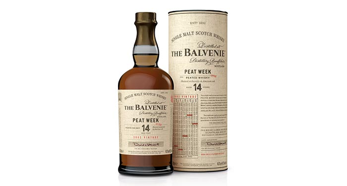 New Peated Single Malt The Balvenie 14 year old