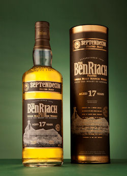 Benriach Launches New 17 Year Old Richly- Peated Septendecim