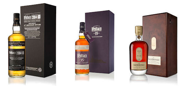 Three New And Very Special Releases From Benriach And Glendronach - 4th December, 2014
