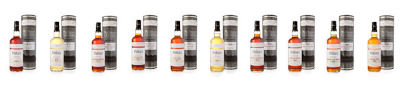 Pictures of the new BenRiach range - 3rd August, 2012