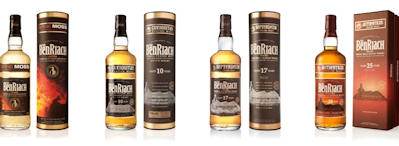 Benriach's Enhanced Peated Range Takes Customers Back to the Future - Peated Range