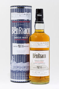 Benriach's latest and limited batch of single cask bottlings - 27th August, 2010 - BenRiach 1976