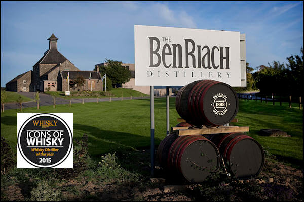 "BenRiach Distillery Company Named Global Whisky Distiller Of The Year in 2015 ""Icons Of Whisky"" Awards :: 20th March, 2015"