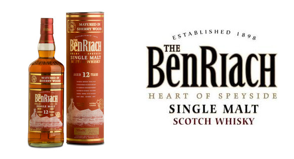 "BenRiach 12 Year Old Sherry Wood Matured Wins ""Spirit Of Speyside"" Whisky Festival Award - 8th May, 2014"