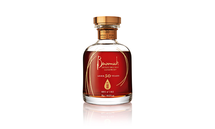 Benromach unveils rare 50-Year-Old Single Cask Whisky - Only 125 bottles of Benromach 50 Years Old will be released for sale