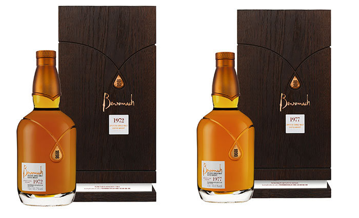 Benromach starts 2019 in style with two rare and aged vintage expressions: Benromach Heritage 1972 and 1977 available worldwide