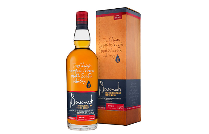 Benromach adds Cask Strength Vintage 2008 limited batch release to its Classic Range