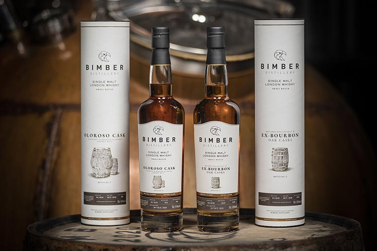 Bimber Distillery adds two new releases to its Small Batch collection. Batch 002 of Ex-bourbon Oak Casks and Batch 003 of Oloroso Cask