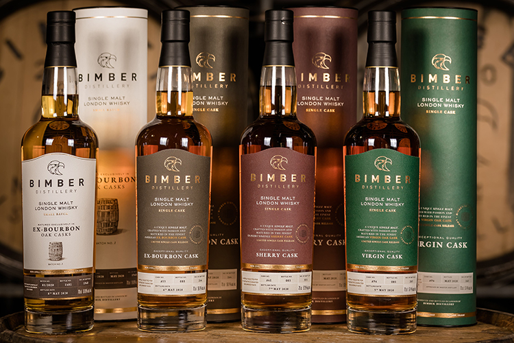 London Distiller Bimber debuts Ex-bourbon Oak Casks Small Batch and six single cask releases