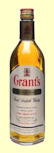 Grant's Standfast Blended Whisky - Cream Label - Bottled 1970's