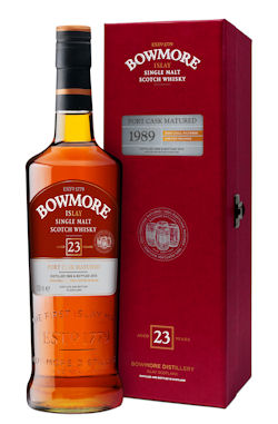 New from Bowmore Distillery -Bowmore 23 Years Old - Port Cask Matured 1989 - 26th - July, 2013