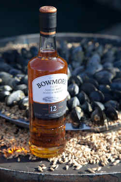 Bowmore 12 Years Old reflects the raw essence of Bowmore and Islay
