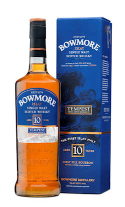 Bowmore Tempest 4 bottle and outer