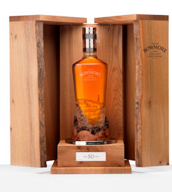 Bowmore Celebrates The Past 50 Years By Launching 1961 Release - 4th December, 2013 - Only 200 bottles being released over the next 4 years