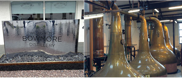 Planet Whiskies tour of the Bowmore Distillery