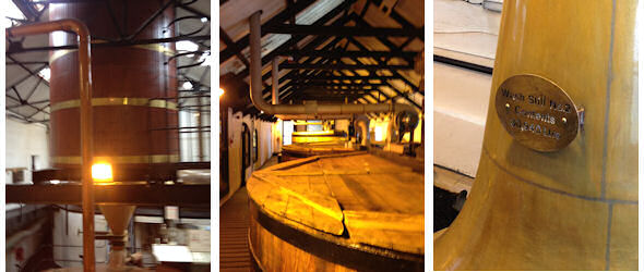 Pictures inside the Bowmore Distillery