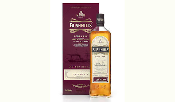 Bushmills® Irish Whiskey Introduces Port Cask Reserve – A Rare And Unique Cask-Matured Variant, Available Exclusively In Duty Free :: The Second Edition In The Limited Release Bushmills Steamship Collection