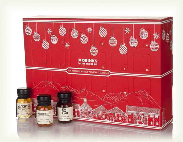 Premium Whisky Advent Calendar - Red (2017 Edition) 72cl, 47.5%